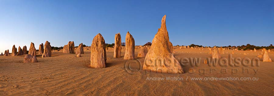 Pinnacles Desert at twilight, Nambung National Park