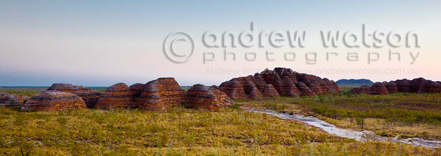 View of the Bungle Bungles range from Piccaninny Creek Lookout