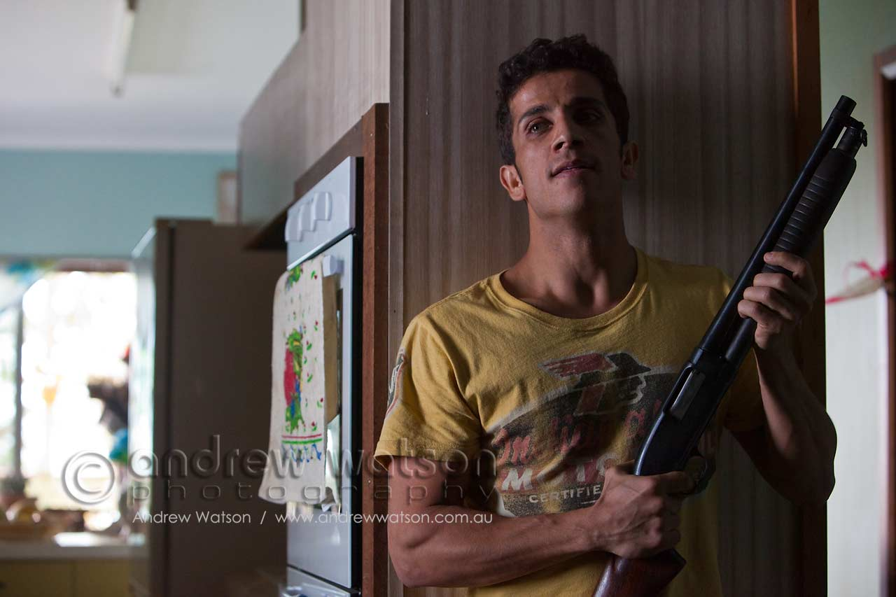 "Firass Dirani, who plays Gary Montebello, the youngest and least focused of the Montebello criminal clan, in ""The Straits"" TV series"