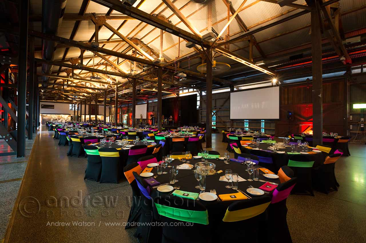 Gala Dinner at the Cairns Cruise Liner Terminal