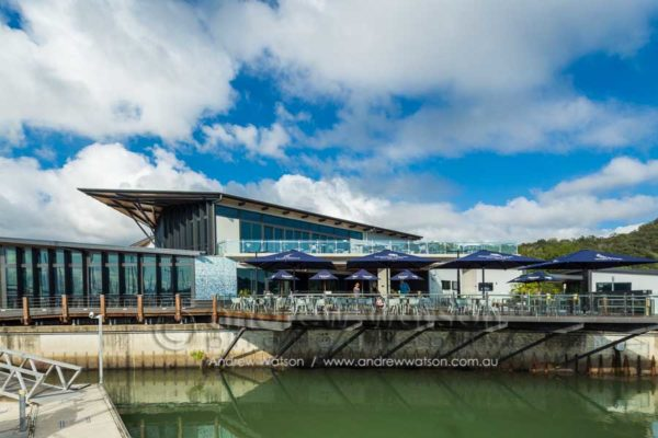 Exterior of Bluewater Bar & Grill, Trinity Park, Cairns
