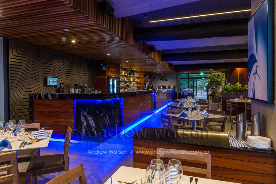Interior of Bluewater Bar & Grill, Trinity Park, Cairns