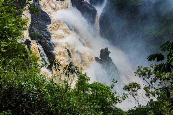 Wet season at Barron Falls, Kuranda, Barron Gorge National Park