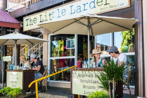 Diners at The Little Larder in Port Douglas