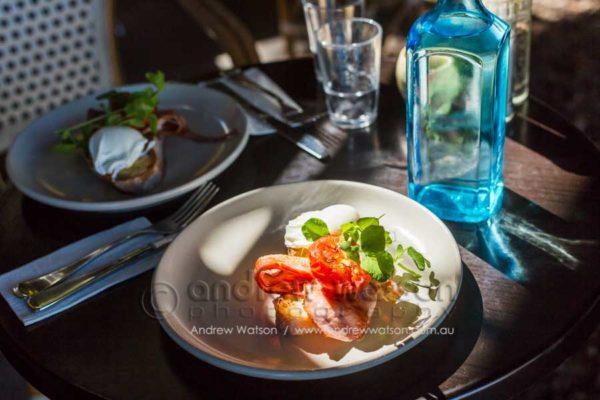 Breakfast dish in a Port Douglas cafe