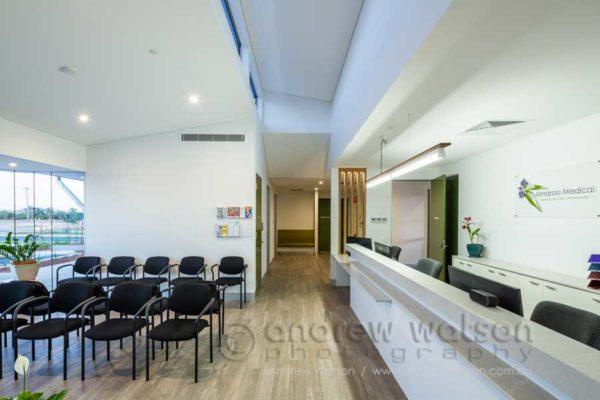 Interior of Amaroo Medical Centre in Mareeba