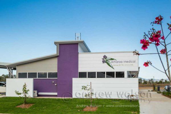 Exterior of Amaroo Medical Centre in Mareeba