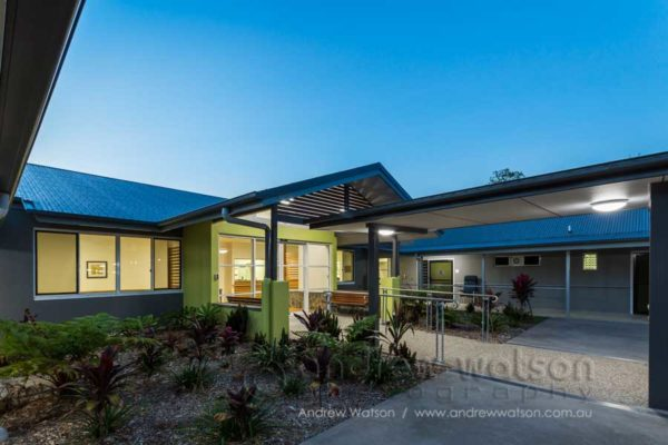 Exterior of the Thomas Corbett Care Unit at Pyramid Residential Care Centre, Gordonvale