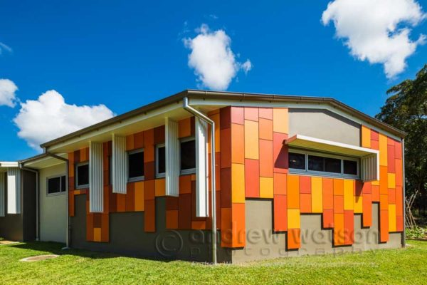 Exterior of the Flexible Learning Centre, Cairns
