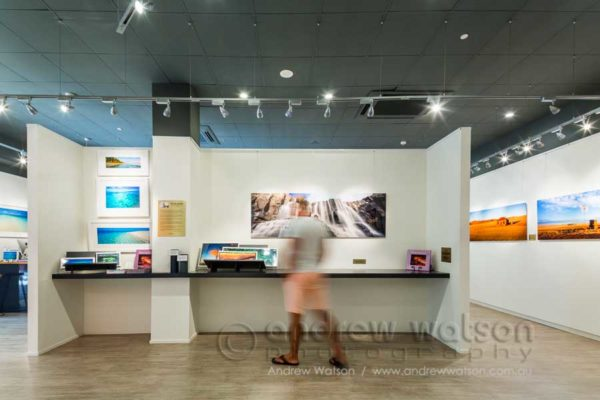 Interior of the Peter Jarver gallery, Cairns