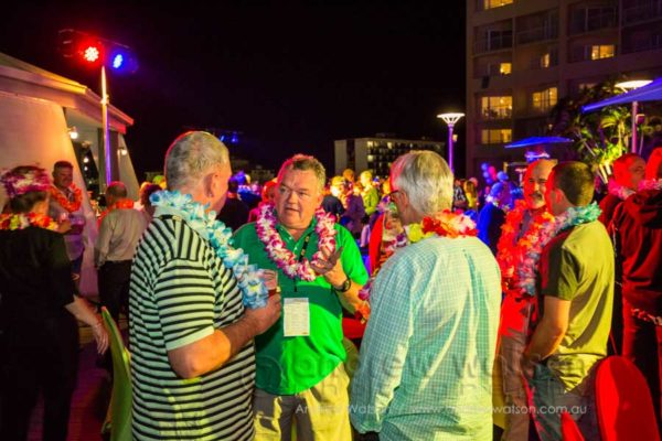 Welcome reception at the Pullman International Cairns