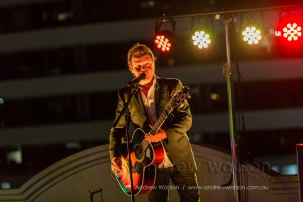 Troy Cassar-Daley at the Davey Dealer Conference welcome reception