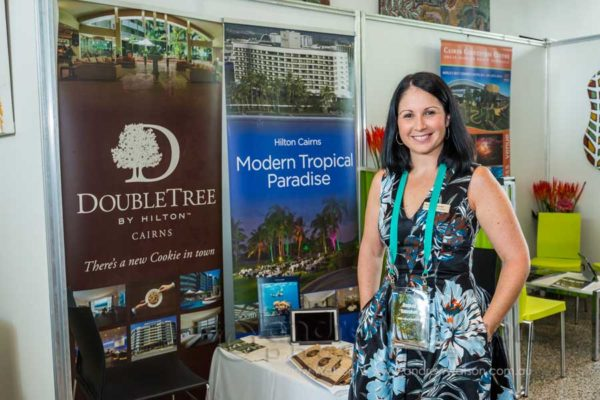 Exhibitor booth at Sell TNQ 2015 Workshops, Cairns