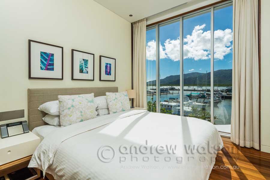 Room interior of the Shangri-La Cairns Hotel