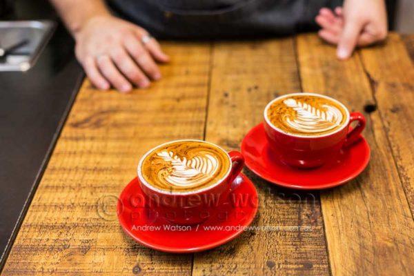 Coffees at Blackbird Espresso, Cairns