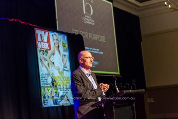 MC James O'Loghlin at Bauer Media 15th Annual Connections Conference