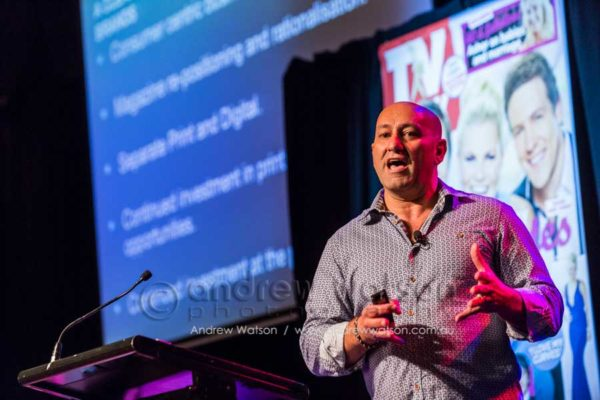 Eugene Varricchio at Bauer Media 15th Annual Connections Conference