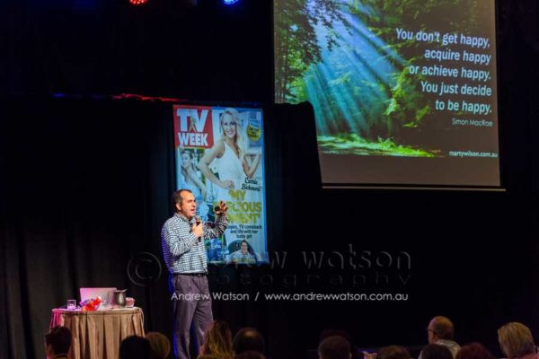 Marty Wilson at Bauer Media 15th Annual Connections Conference in Cairns