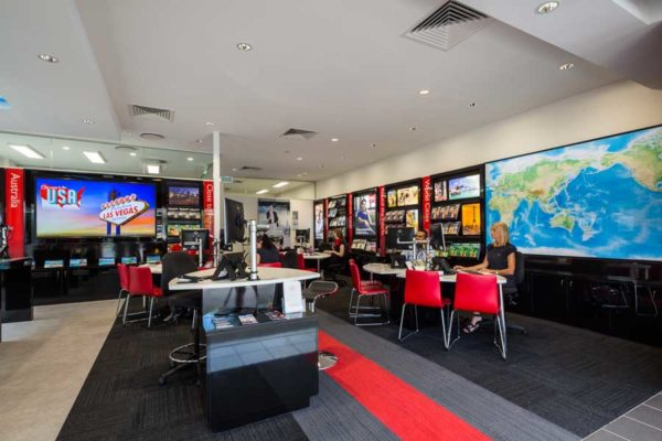 Interior image of a business fitout, Cairns