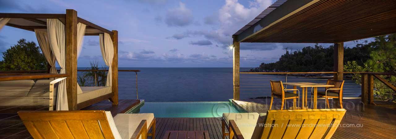 The Point Villa at Bedarra Island Resort, Mission Beach
