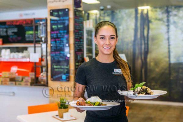 Service at Paleo Café, Oceana Walk Arcade