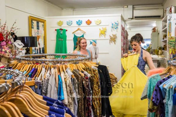 Dear Pearl Vintage fashion boutique, Oceana Walk Arcade