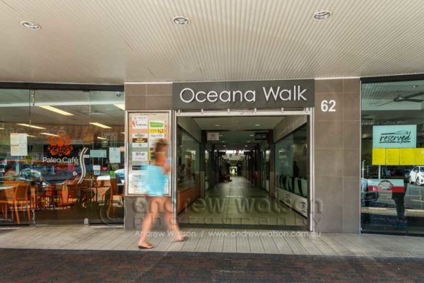 Grafton St entrance to Oceana Walk Arcade