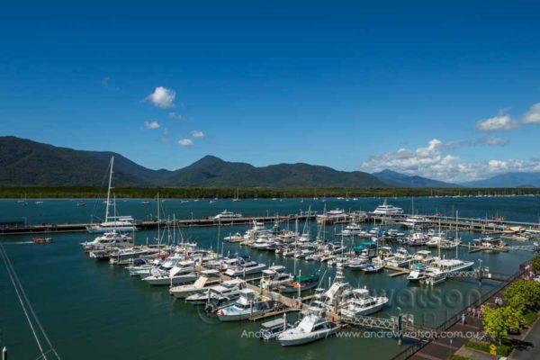 Boats in Marlin Marina, Cairns