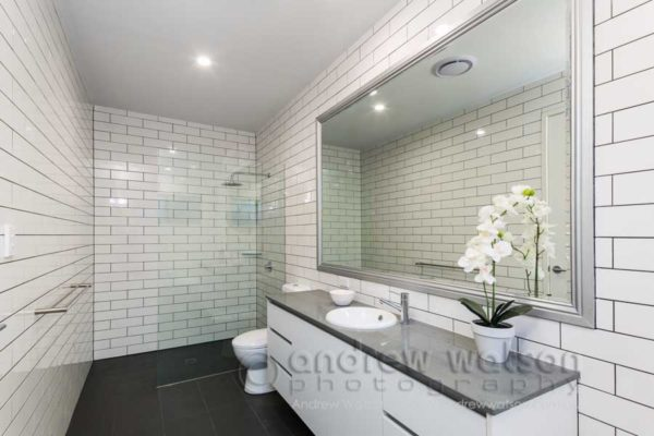 Interior image of residential bathroom for MiHaven, Cairns