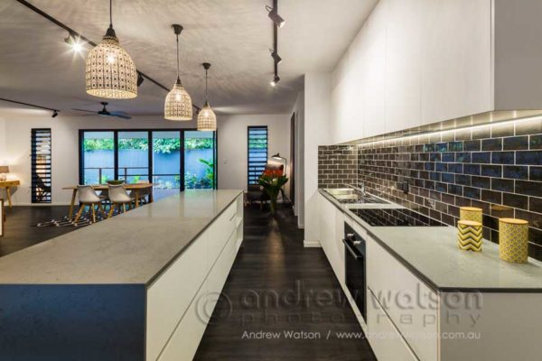 Interior image of residential kitchen for MiHaven, Cairns