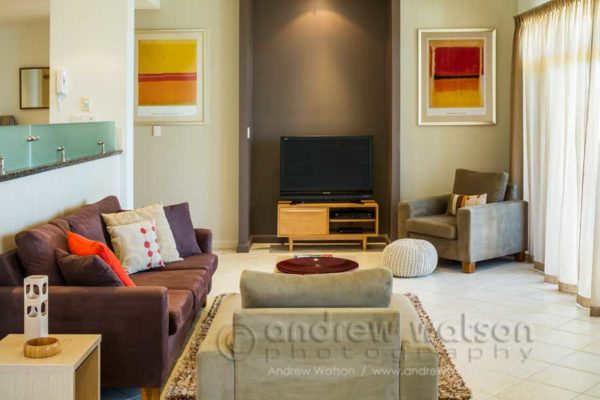 Interior of an apartment at Sea Change, Trinity Beach
