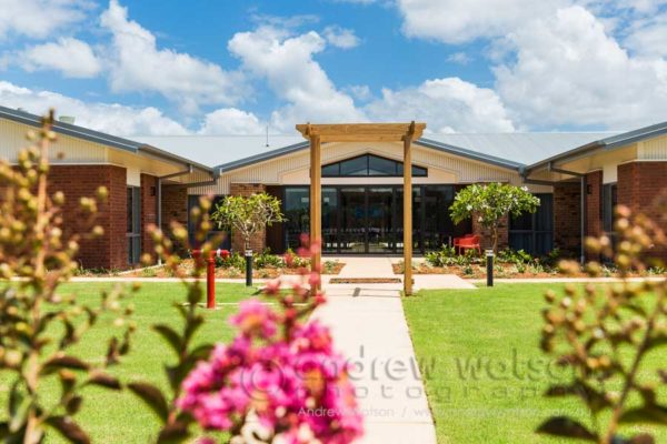 Garden of the new extension at Regis Caboolture