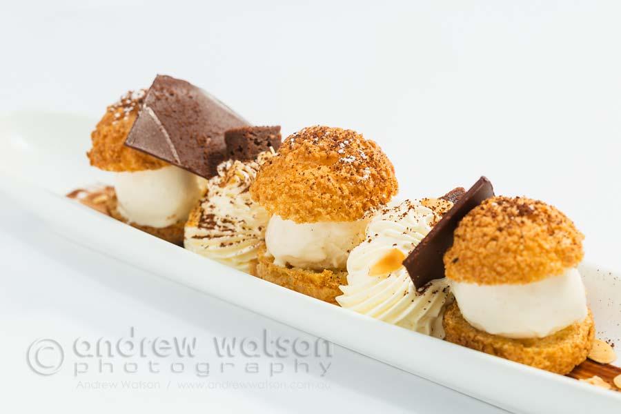 Image of profiteroles dessert