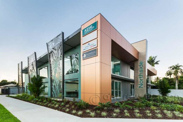 Exterior image of Keir Qld office building