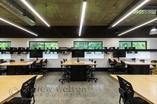 Image of technology innovation lab at James Cook University, Cairns