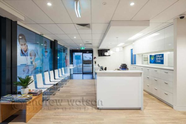 Interior image of Abbott Medical Clinic reception