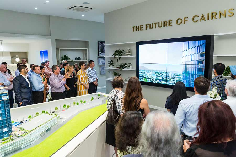 Image of guests at Nova City Cairns Launch