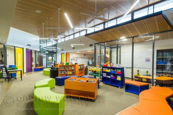 Interior image of St Joseph's Parish School flexible learning centre