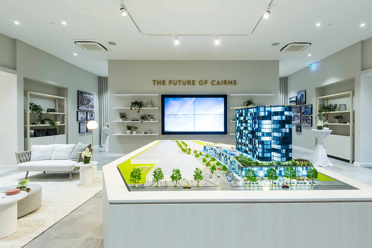 Image of Nova City Cairns display suite