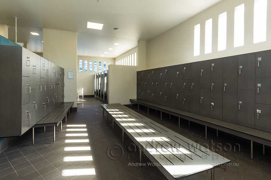 Image of pool change rooms
