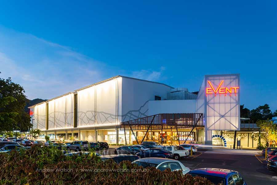 Image of new Smithfield Shopping Centre cinema complex