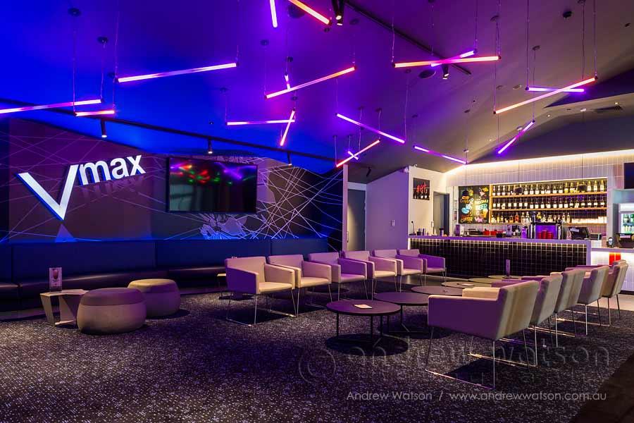 Image of cinema bar lounge at Smithfield Shopping Centre