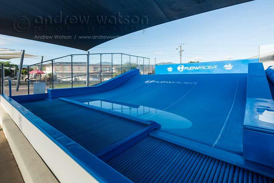 Image of artificial wave rider at Toburk Memorial Pool