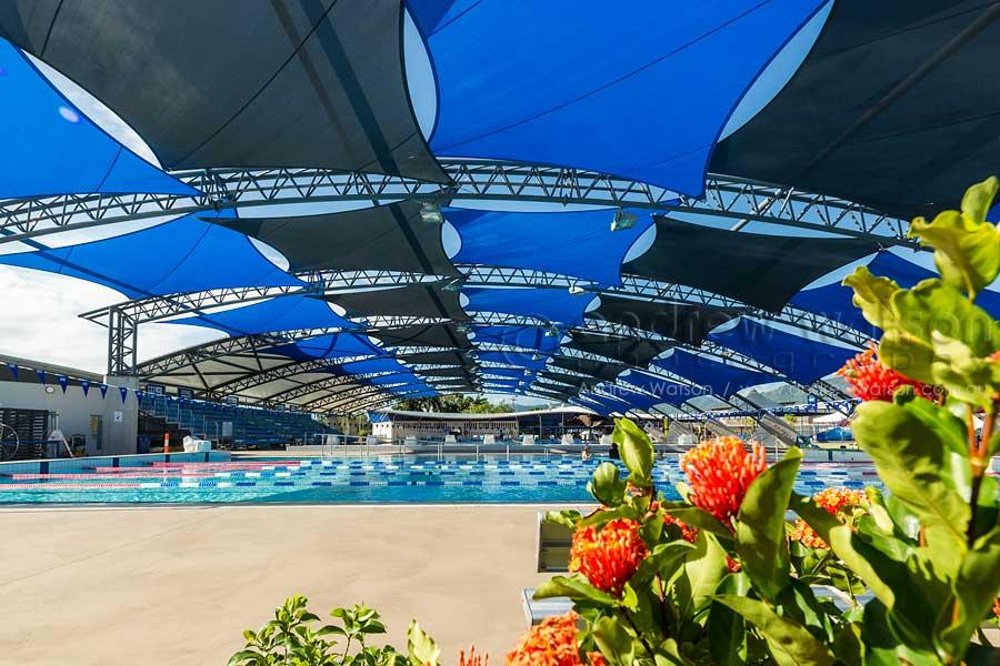Image of Tobruk Memorial Pool shading