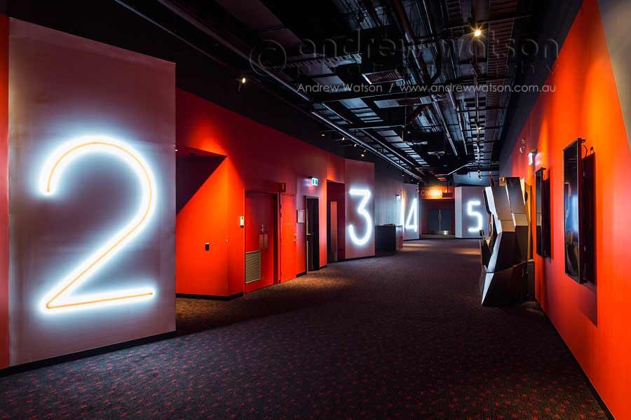 Image of interior of multiplex cinema at Smithfield