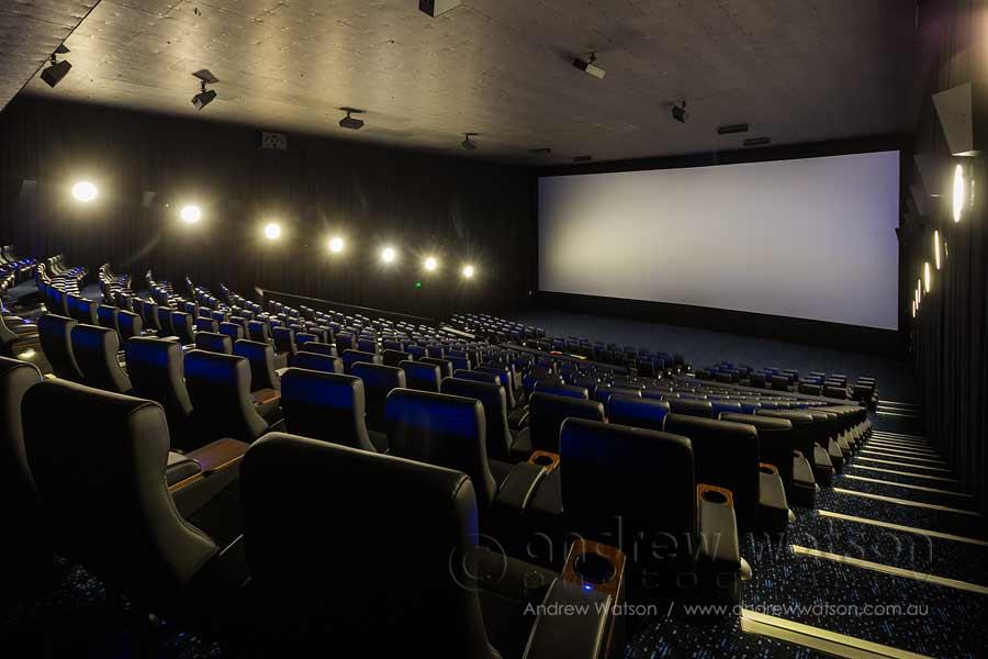 Image of Vmax cinema interior at Smithfield Event Cinemas