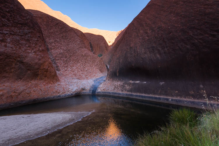 Image of Mutitjulu Waterhole at the base of Uluru