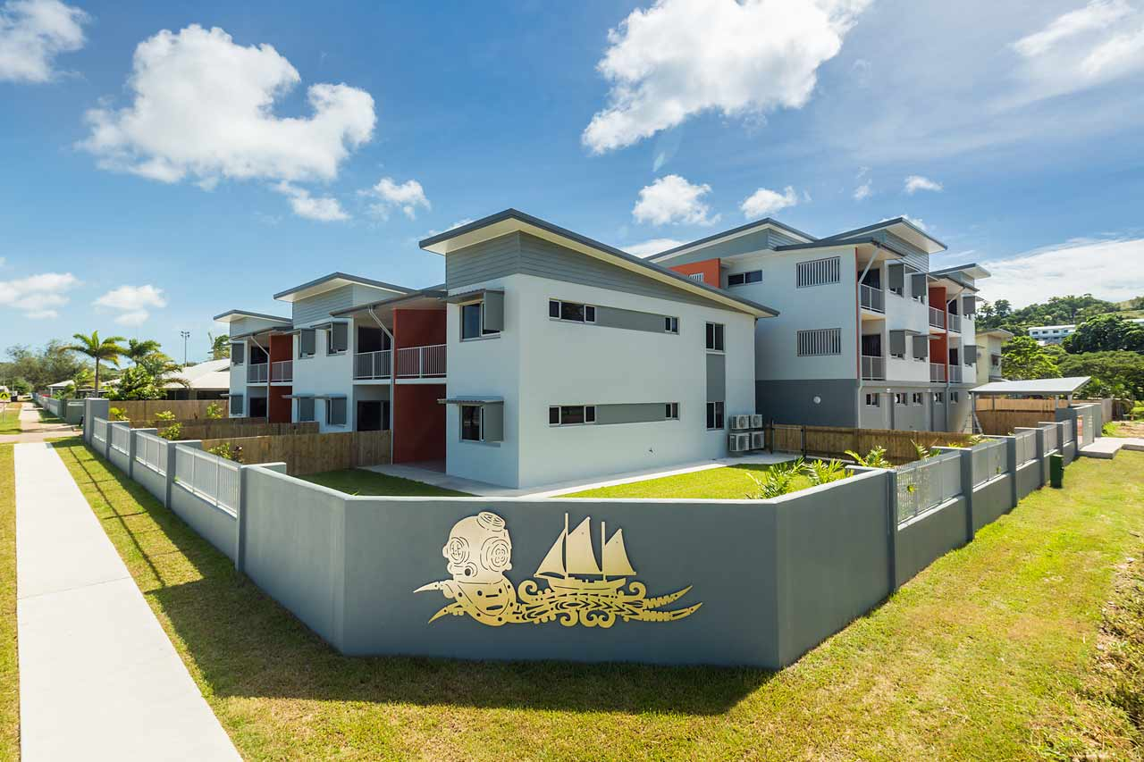 Image of unit housing development, Thursday Island